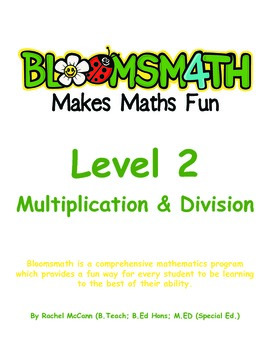Bloomsmath Differentiated Multiplication and Division Year 1 Maths Activities