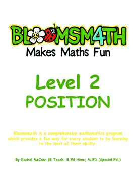 Bloomsmath Differentiated Position Maths Activities for Year 1