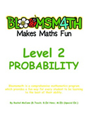Bloomsmath Differentiated Probability and Chance Maths Activities for Year 1