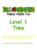Bloomsmath Differentiated Time Kindergarten Maths Activities