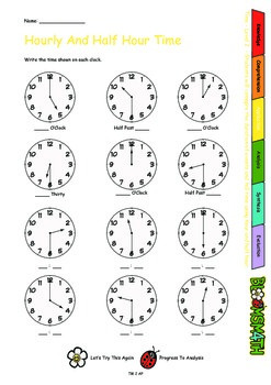Bloomsmath Differentiated Time Year 1 Maths Activities