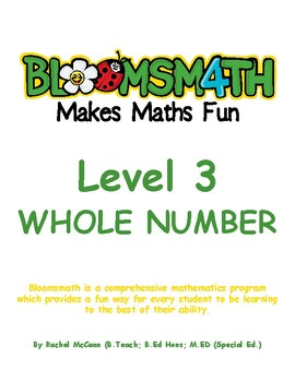 Bloomsmath Differentiated Whole Number Maths Activities for Year 2