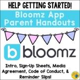 Bloomz Communication App - Permission Slip, Letters, Sign