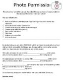 Bloomz App, Parent Permission Form, Parent forms, parent c