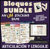 Bloques BUNDLE! Articulación y Lenguaje Spanish Speech The