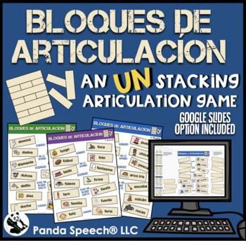 Bloques de Articulación: Speech Therapy UN-stacking Game Companion