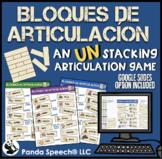 Bloques de Articulación: Speech Therapy UN-stacking Game C