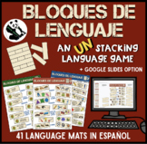 Bloques de Lenguaje: A Spanish Language Speech Therapy UN-stacking Game!