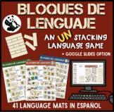 Bloques de Lenguaje: Speech Therapy in Spanish (+ digital