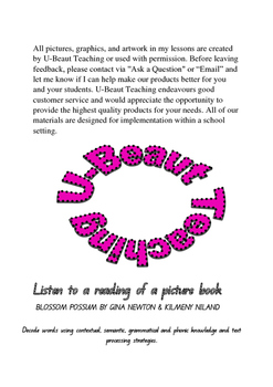 Blossom Possum (Comprehension Exercise)