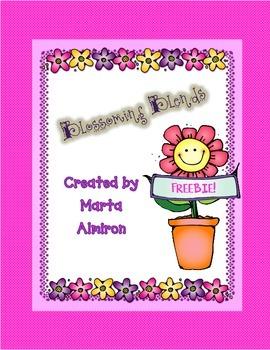 Blossoming Blends -  FREEBIE