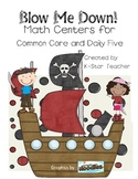 Blow Me Down!  Pirate Adding Centers