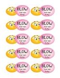Blow Pop/Gum Testing Treat Labels