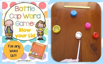 Blow Your Lid Bottle Cap Center Game for any List