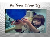 Blow up balloon power point
