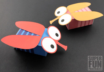 Blowfly gift box craft