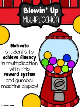 Blowin' Up Multiplication Fluency Reward Bundle