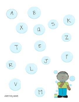 Blowing Alphabet Bubbles {CC Aligned}