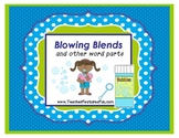 """Blowing Blends"" (and other word parts) Game"