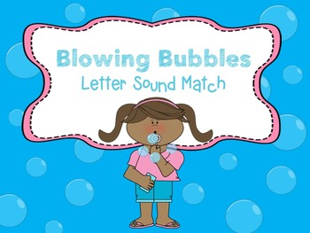 Blowing Bubble ABC Practice