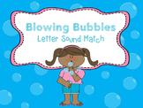 Blowing Bubble ABC Practice