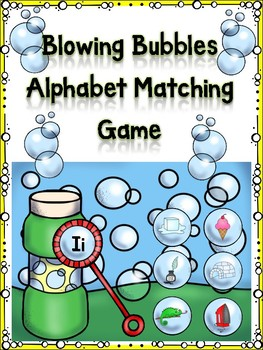 Blowing Bubble Alphabet Matching Game Ii