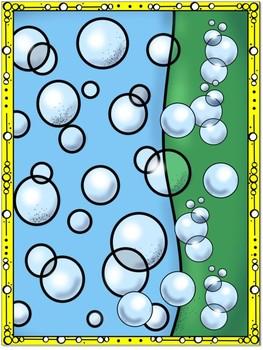 Blowing Bubbles Alphabet Matching Bb