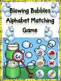 Blowing Bubbles Alphabet Matching Cc