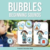 Blowing Bubbles Beginning Sounds