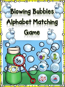 Blowing Bubbles Matching Game Ss