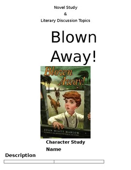 Blown Away Novel Study
