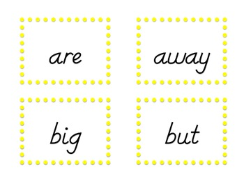 Blown Away Sight Words