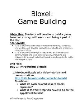 Bloxel Unit Video Game Design