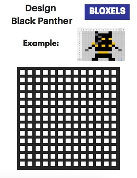 Bloxels Bundle - Black Panther Edition! (Writing, Math, and More!)