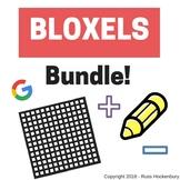 Bloxels Bundle - Writing, Math, Google Sheets, and Technology I Cans!