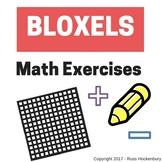 Bloxels - Math Exercises (Addition, Subtraction, Problem Solving, etc.)