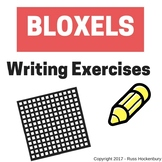 Bloxels - Writing Exercises (Adjectives, Verbs, Character