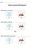 Blubber Experiment Results Worksheet