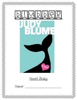 Blubber Novel Study