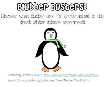 Blubber Science Experiment and Activity
