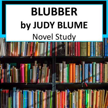 Blubber by Judy Blume, Novel Study