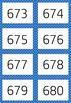 Blue 1-1000 Flash Card Mega Value Bundle