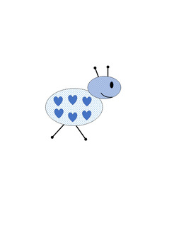 Blue Ant Clip Art