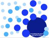 Blue BOOMdot Poster Template
