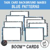 Blue Backgrounds for digital task cards - Boom Cards™