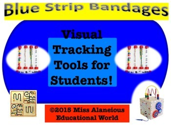 """""""Blue Bandages"""" Visual Tracking Tool for Reading"""