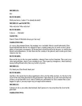Bluebeard - A Readers Theater Fairy Tale