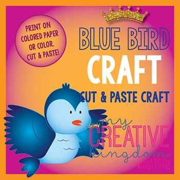 Blue Bird Fairy Tale Craft