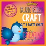 Blue Bird Fairy Tale Craft