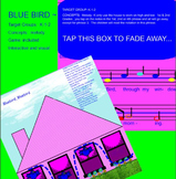 Blue Bird~Game song~ta, ti-ti~pattern~ Smartboard